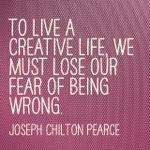Fear is impeding