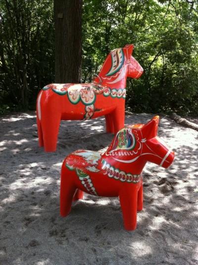 Playground Dala horse